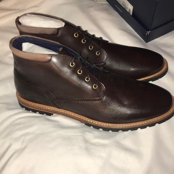 29781a20c43 Cole Haan Shoes | Dress Chukka Boot Brown Raymond New Box | Poshmark
